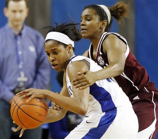 No. 6 Kentucky women beat No. 20 Texas A&M 65-62