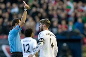 Ramos to appeal booking: 'It must be easy to give me a card'