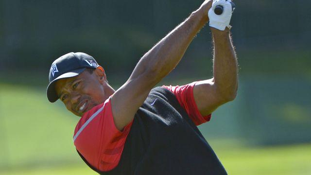 Tiger Woods back on top