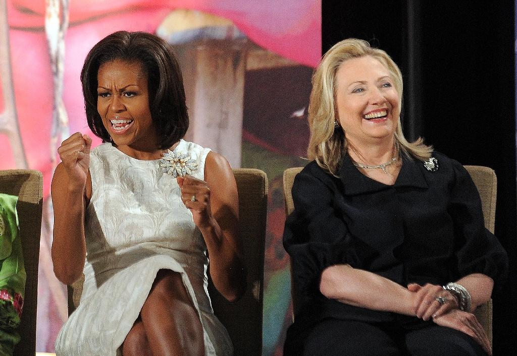 Michelle Obama 'proud' woman may be elected US president