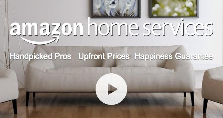 Amazon home services cleans your home, mounts TVs