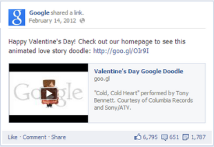 Understand the Power of Valentine&#x002019;s Day Emotions in Your Content Marketing image Screen shot 2013 02 04 at 5.58.30 PM