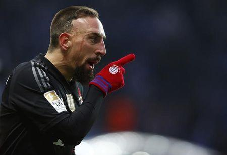 Ribery out as Bayern take on challengers Wolfsburg