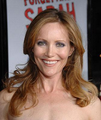 Leslie Mann at the Los Angeles premiere of Universal Pictures' Forgetting Sarah Marshall