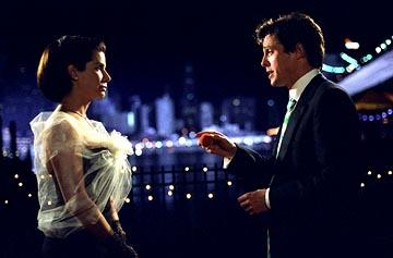 Sandra Bullock and Hugh Grant in Warner Brothers' Two Weeks Notice