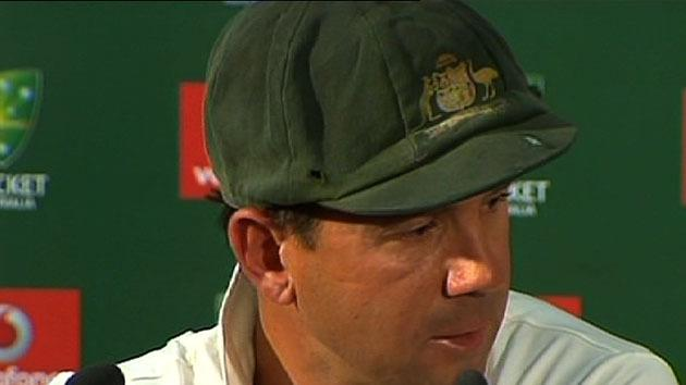 Ponting leaves with no regrets
