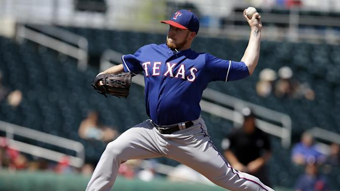 Ross pitches 7 strong innings, Rangers top Indians