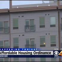 Denver City Council To Vote On Affordable Housing Bill