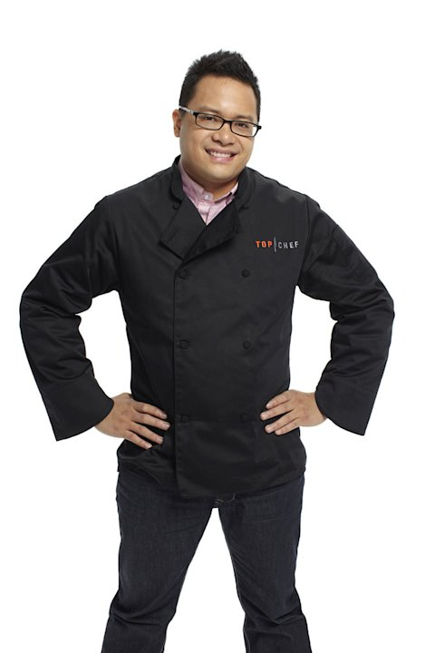 "Dale T competes in the 8th season of ""Top Chef."""