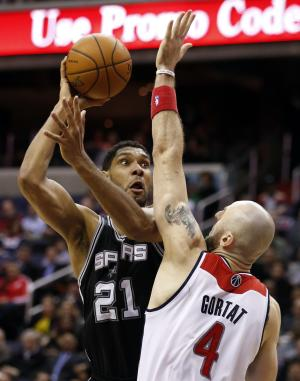 Parker, Duncan won't play for Spurs vs Nets