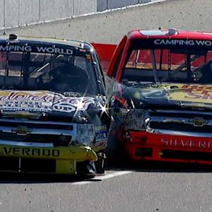 Wreck ignites tempers between Harvick, Dillon
