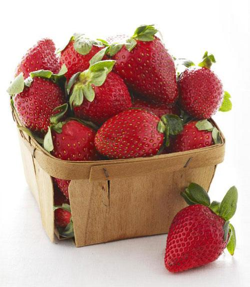 May: Strawberries