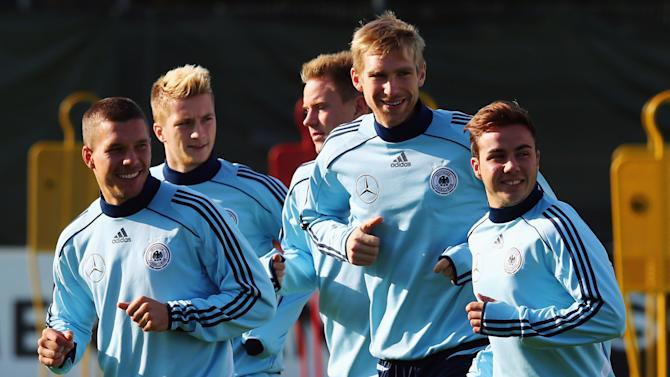 German National Team - Training Session and Press Conference