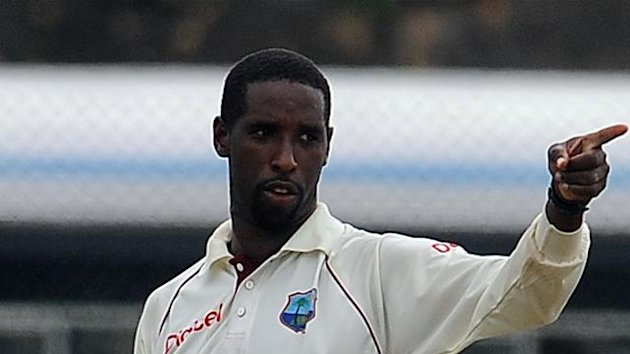 West Indies cricketer Shane Shillingford