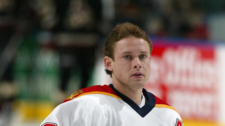 Pavel Bure of the Florida Panthers