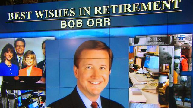 Bob Orr retires from CBS News after 21 years