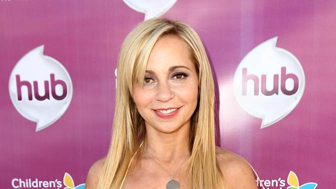 "IMAGE DISTRIBUTED FOR THE HUB - Tara Strong attends The Hub TV Network's ""My Little Pony Friendship is Magic"" Coronation Concert at the Brentwood Theatre on Saturday, Feb. 9, 2013, in Los Angeles in support of Children's Hospital LA. (Photo by Matt Sayles/Invision for The Hub/AP Images)"