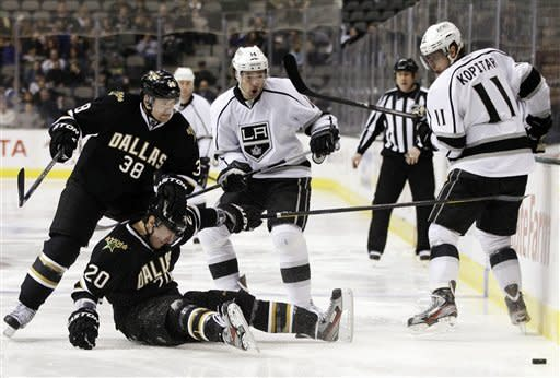 Nolan, King lead Kings past Stars 4-2