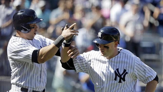 Yanks say McCann X-rays negative; Cervelli to DL