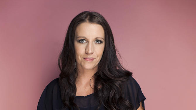 """FILE - This Sept. 20, 2012 file photo shows Pattie Mallette, mother of Canadian singer Justin Bieber, in New York. Mallette is an executive producer for """"Crescendo,"""" a new film she hopes will raise $10 million for centers that help pregnant girls. The movie will be released Feb. 28 worldwide. (Photo by Victoria Will/Invision/AP)"""