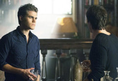 Paul Wesley and Ian Somerhalder | Photo Credits: Bob Mahoney/The CW