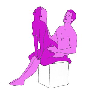 Sex position of the day: Narrow perch