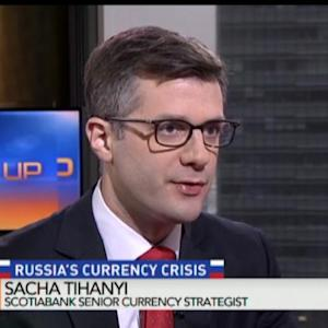 Scotiabank's Tihanyi on Outlook for Ruble, Rupiah