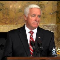 Pennsylvania Governor Corbett Signs Budget, Vetoes Legislative Funding