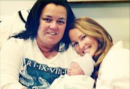 Rosie O'Donnell, wife Michelle Rounds and daughter Dakota | Photo Credits: Rosie O'Donnell