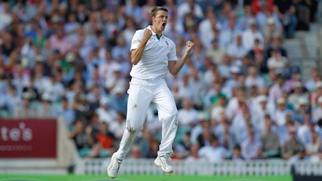 Morne Morkel, pictured, removed Dean Brownlie just before lunch