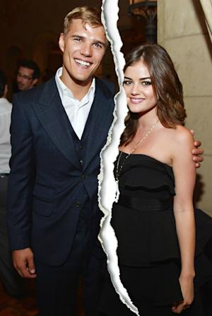 Lucy Hale, Chris Zylka Split