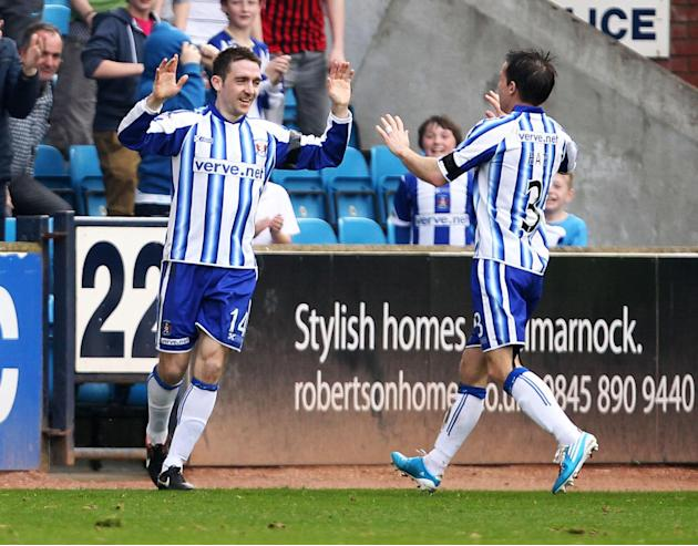 Paul Heffernan netted a double for Kilmarnock