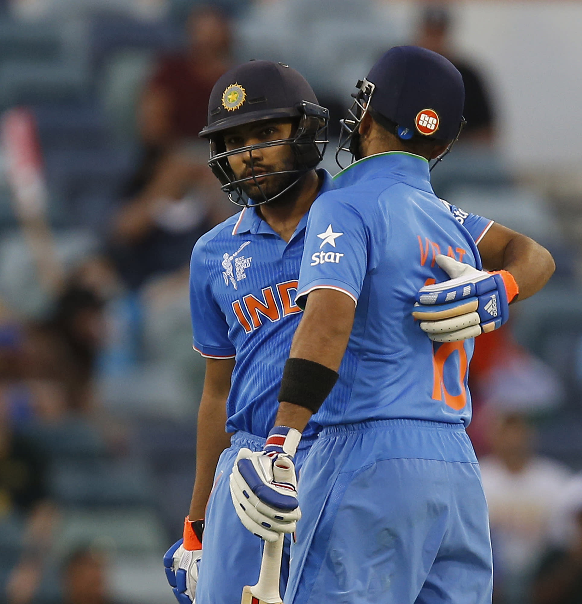India aims to clinch quarterfinal spot at Cricket World Cup