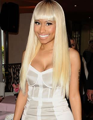 Minaj was impressed with Lynch&#39;s cover. (Getty Images)