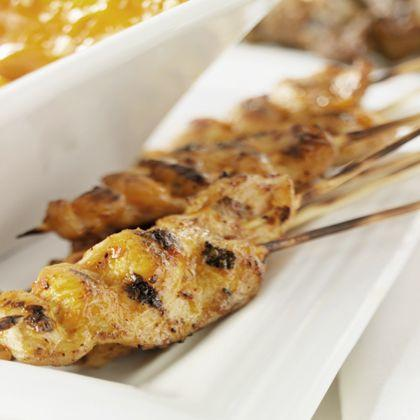 Honey-Lime Chicken Skewers