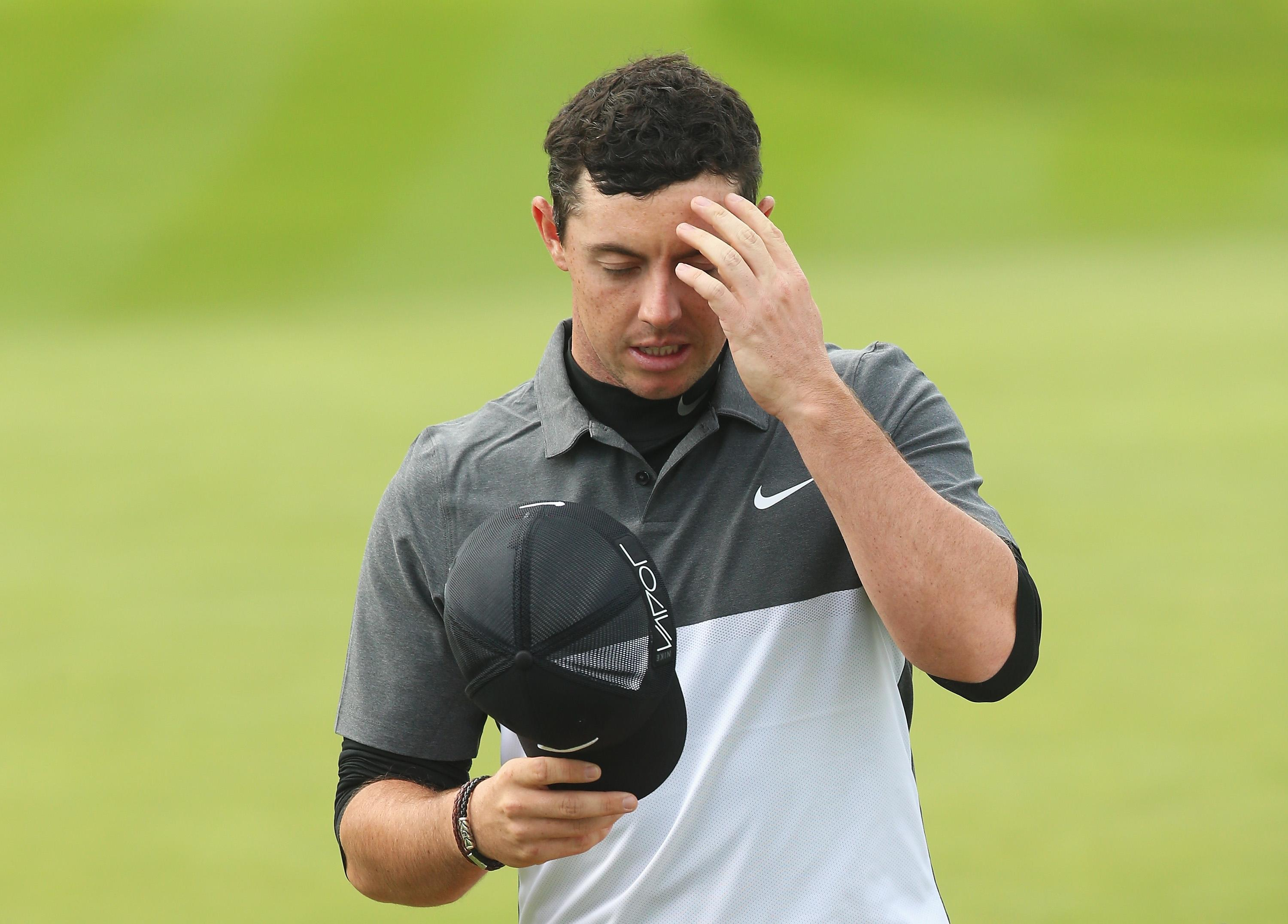 Rory McIlroy misses BMW PGA cut after second-round 78