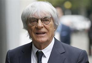Formula One Chief Executive Bernie Ecclestone arrives at the High Court in central London