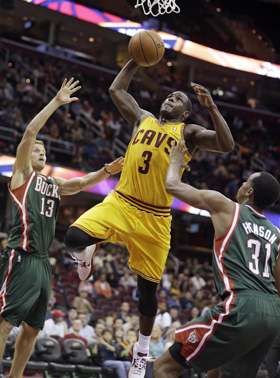 Cavaliers beat Bucks in preseason opener 99-87