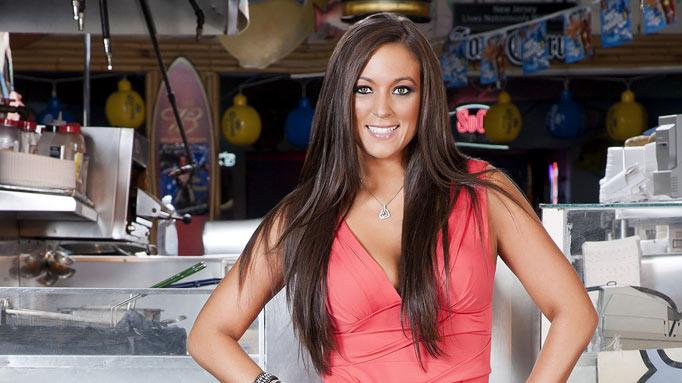 "Sammi ""Sweetheart"" Giancola back in Seaside, NJ for Season 5 of ""Jersey Shore."""