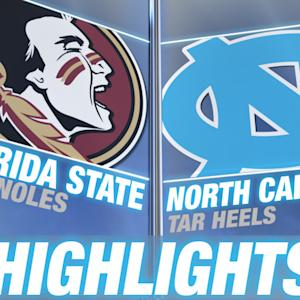 Florida State vs North Carolina | 2014-15 ACC Men's Basketball Highlights