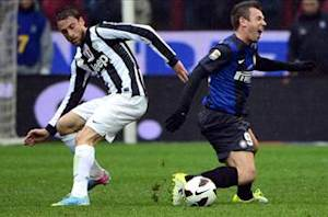 Inter's Cassano ruled out for a month