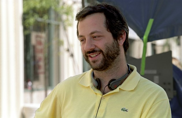Producer Judd Apatow Anchorman: The Legend of Ron Burgundy Production Stills DreamWorks 2003