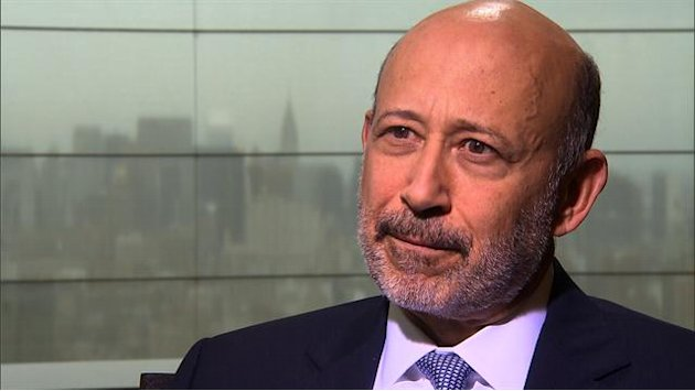 Goldman Sachs CEO on market …