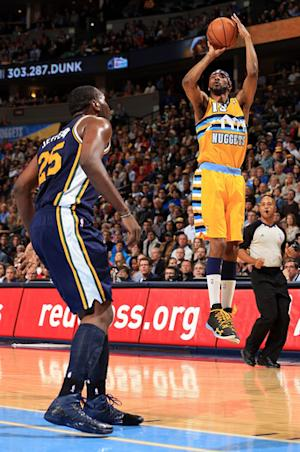 Brewer scores 20 to lead Nuggets past Jazz 104-84
