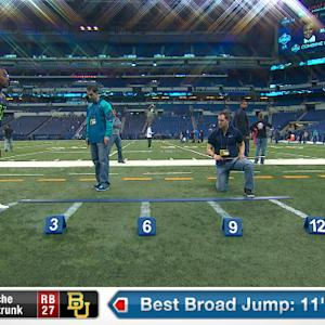 2014 Combine workout: Lache Seastrunk
