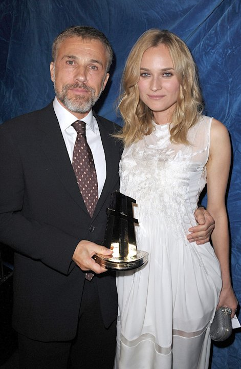13th Annual Hollywood Awards Gala 2009 Christoph Waltz Diane Kruger