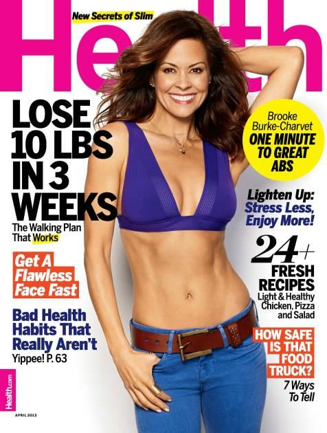 Health Brooke Burke-Charvet April 2013 -- Health Magazine