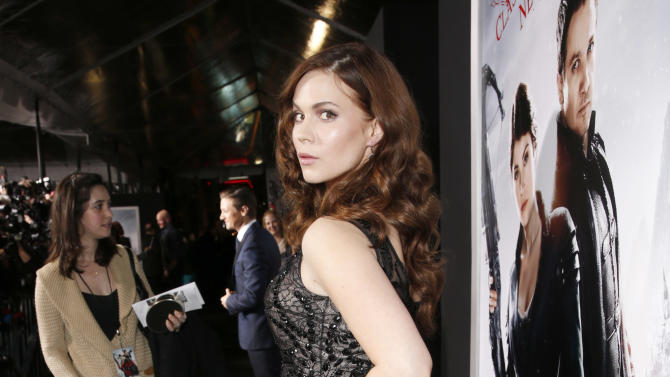 """Pihla Viitala arrives at the premiere of """"Hansel & Gretel Witch Hunters"""" on Thursday Jan. 24, 2013, in Los Angeles.  (Photo by Todd Williamson/Invision/AP)"""