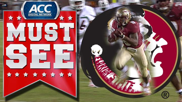 Florida State's Devonta Freeman Follows Blocker For 48-Yard Touchdown | ACC Must See Moment