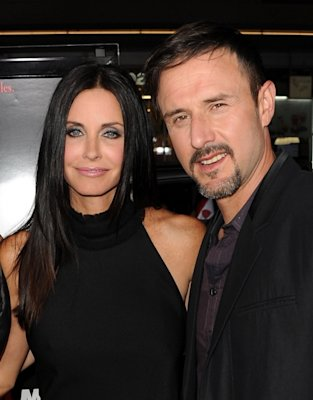 Courteney Cox and David Arquette …